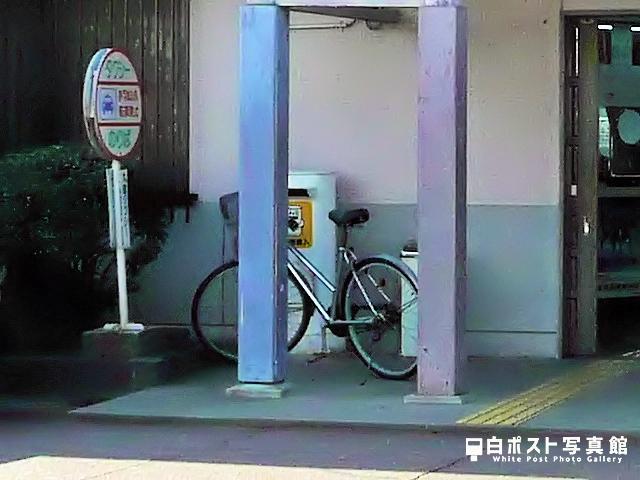 羽ノ浦駅の白ポスト