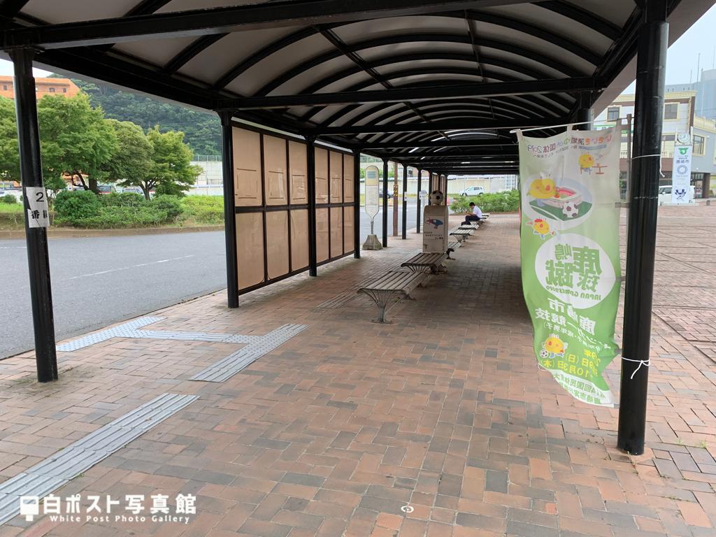 鹿島神宮駅のバスターミナル