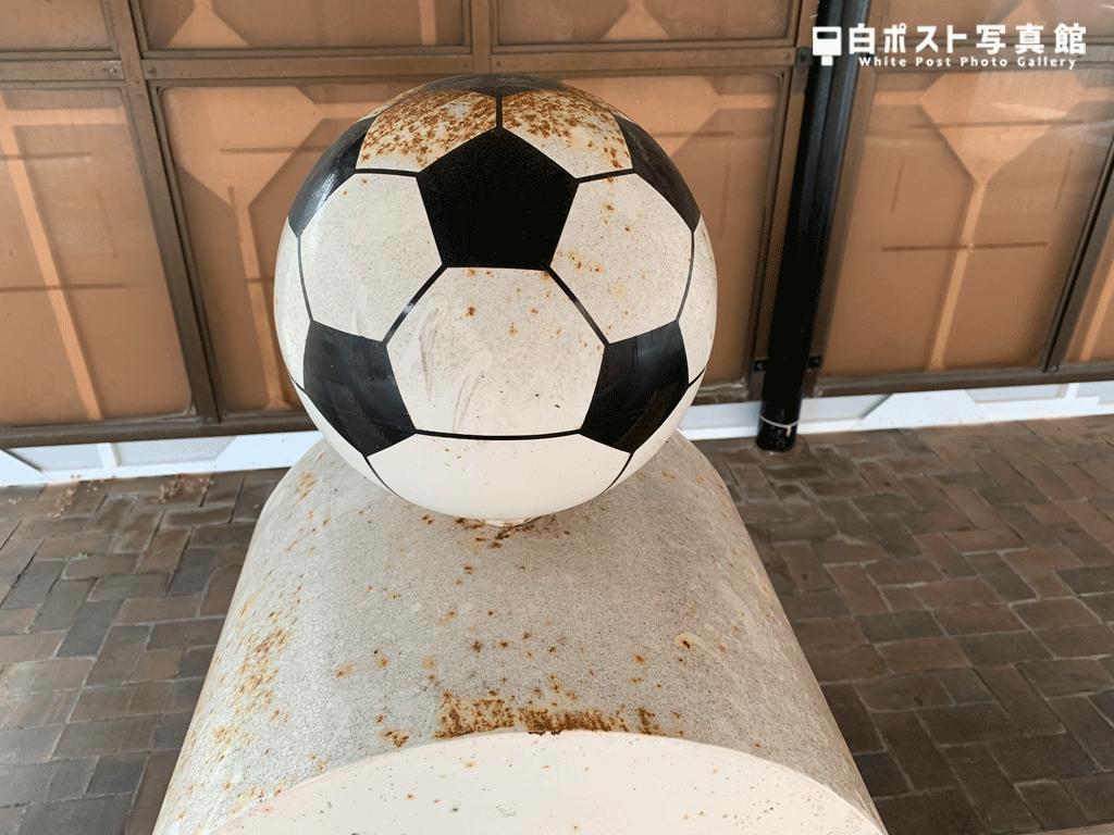 サッカーボール拡大
