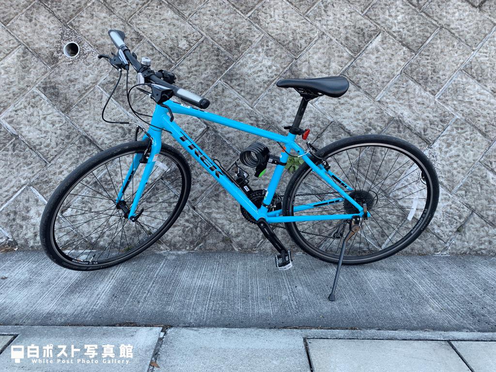 TREKのクロスバイクをお借りしました
