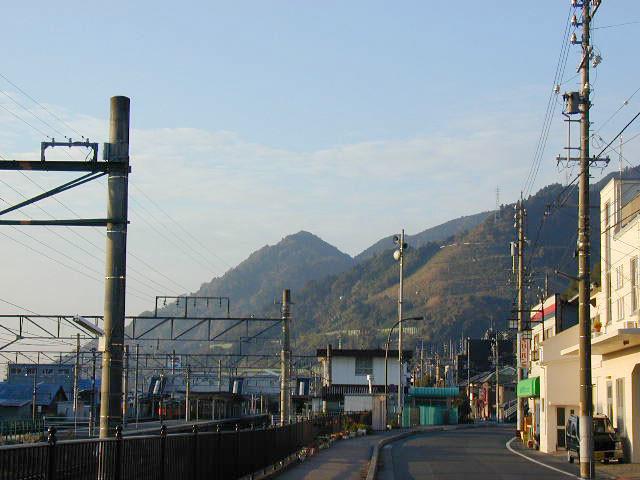 薩埵山遠景
