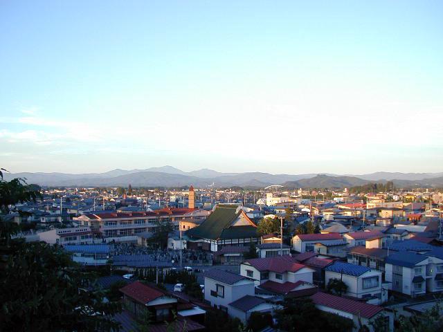 花巻市街地