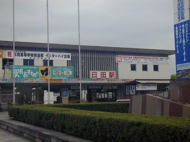日田の旧駅舎