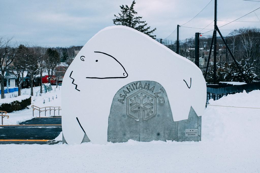 AIRDO20周年ひがし北海道フリーパス_鉄道の旅_旭山動物園にて