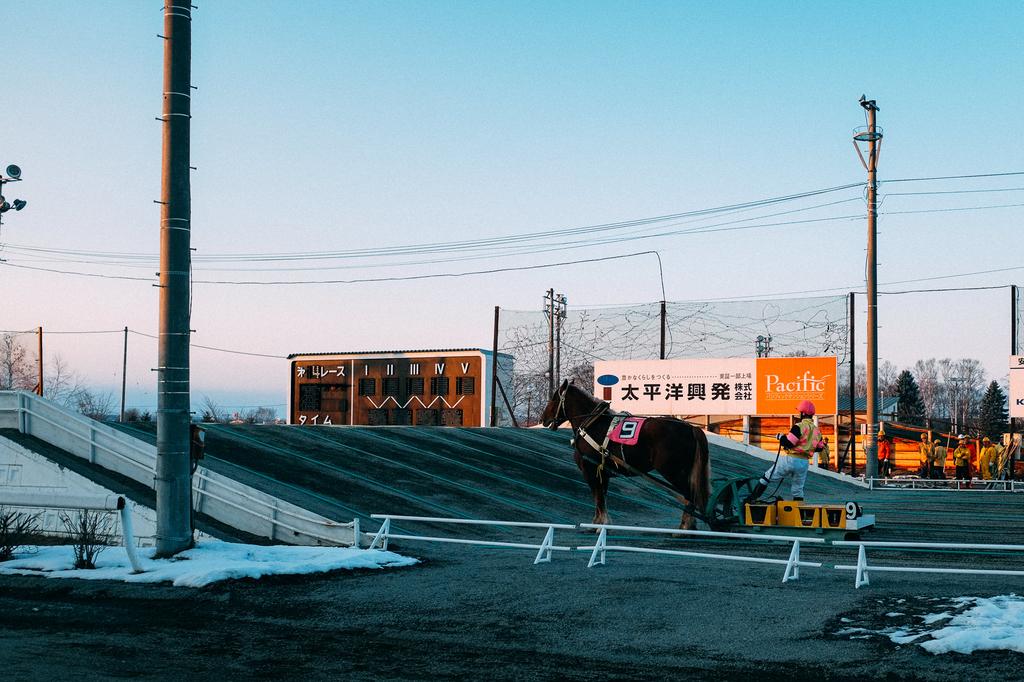 AIRDO20周年ひがし北海道フリーパス_鉄道の旅_帯広_ばんえい競馬