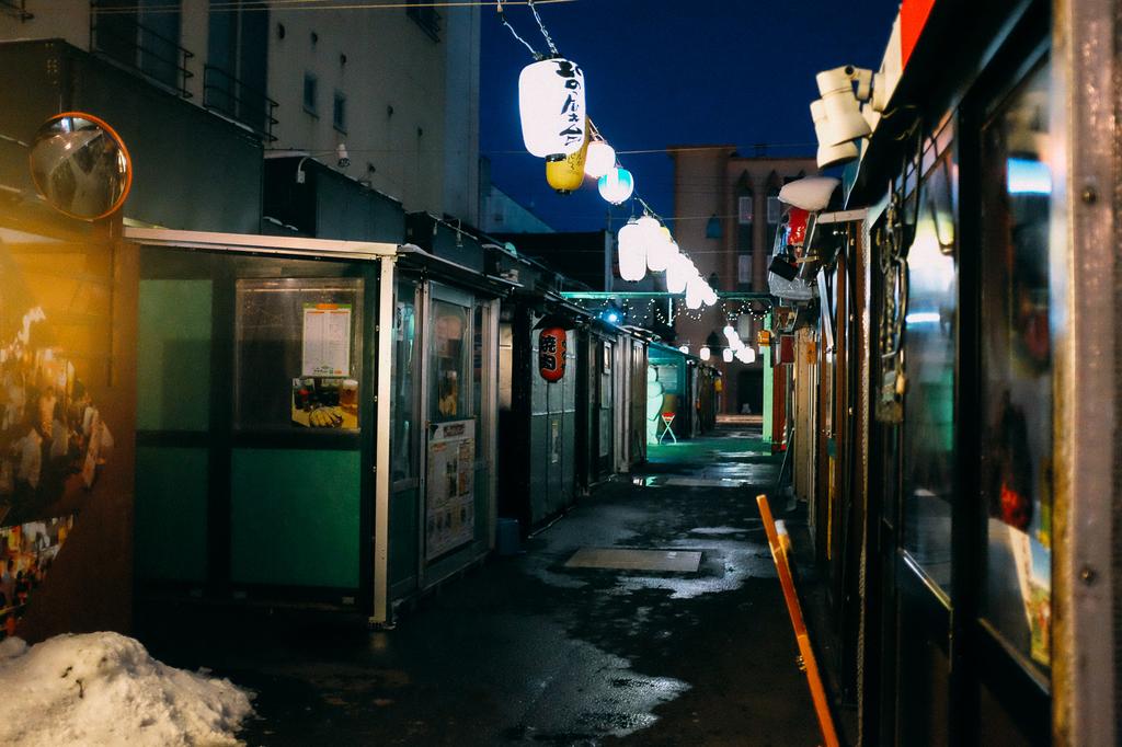 AIRDO20周年ひがし北海道フリーパス_鉄道の旅_帯広_飲み屋街