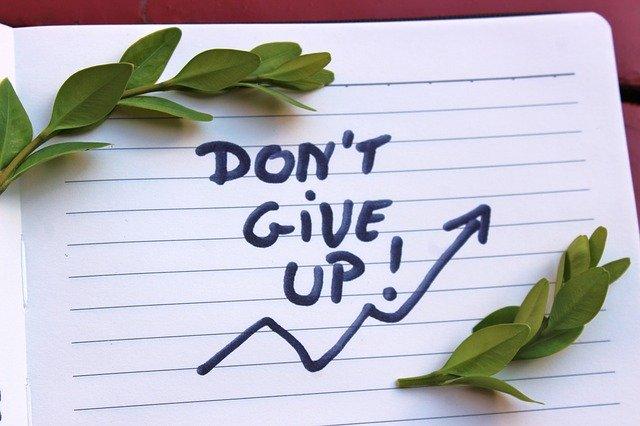 諦めないで