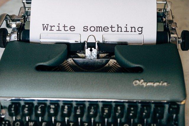書きます!
