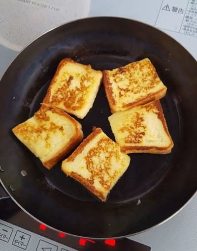 フレンチトースト フライパン