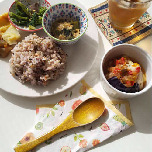 FIT FOOD HOME 冷凍お惣菜 盛り付け例