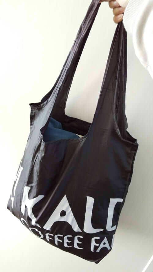 KALDI エコバッグ ブラック