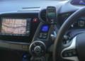 カーメイト UP407 フラップホルダー、EMOBILE S31HW (インサイト車内)