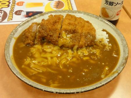 手仕込とん勝つカレー 1辛 チーズ (CoCo壱番屋 神戸高速長田駅前店)