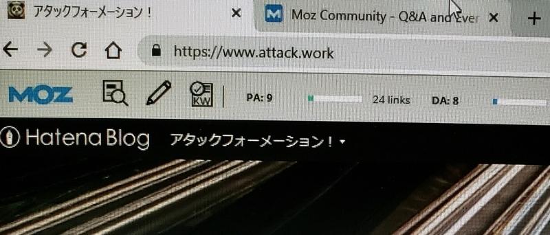 ドメインパワー 初心者ブログ