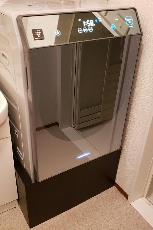 洗濯機 排水口 隠す
