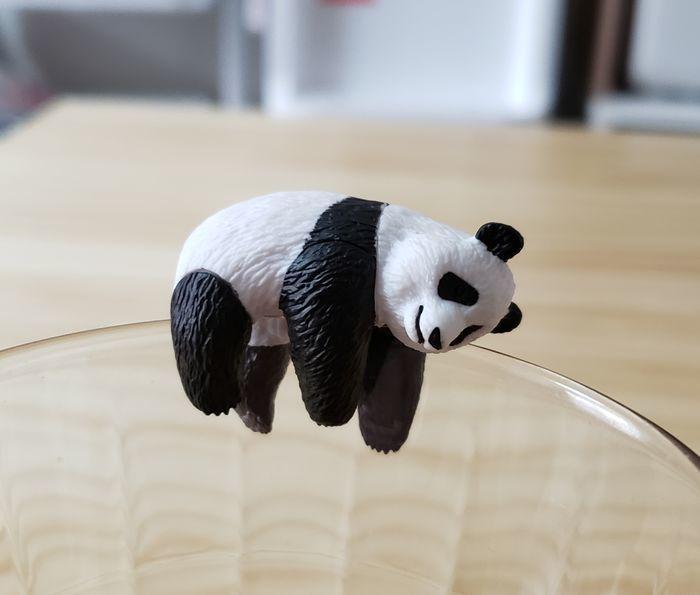 パンダのカプセルトイ