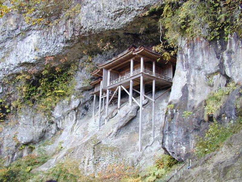 三徳山の投入堂