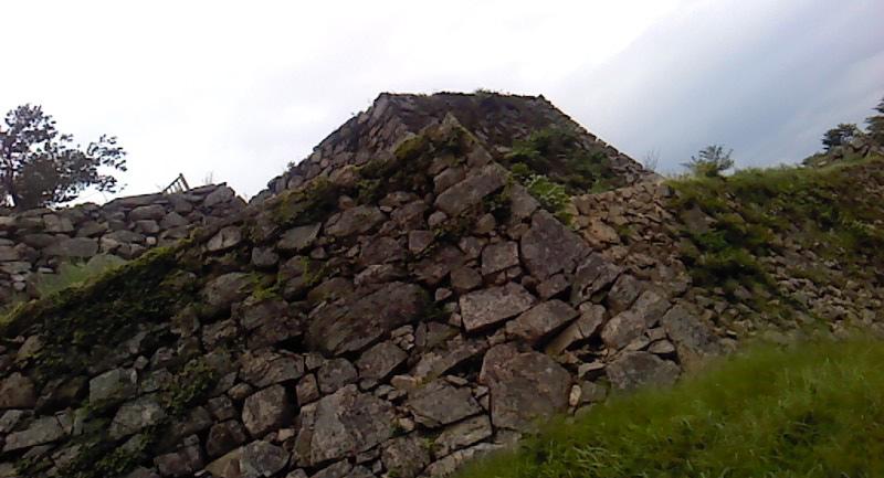 日本マチュピチュ竹田城の城跡