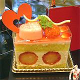 ラブ・パレードのケーキ