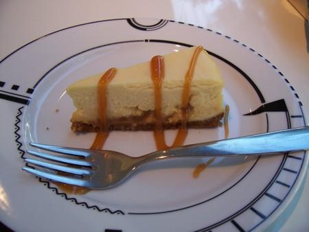 松之助NYのキャラメルチーズケーキ