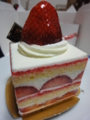パティスリーイケダヤマのあまおう苺のプレミアムショートケーキ