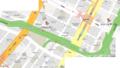 京橋~宝町ケーキツアー地図