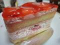 キャトルセゾンのいちごのショートケーキ