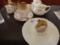 銀座みゆき館の紅茶と和栗のモンブラン