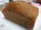 山本道子の店の亜麻(赤砂糖)ケーキ