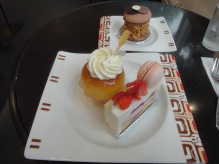 アステリスクのケーキ