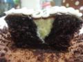 マグノリアベーカリーのトリュフチョコレートカップケーキ