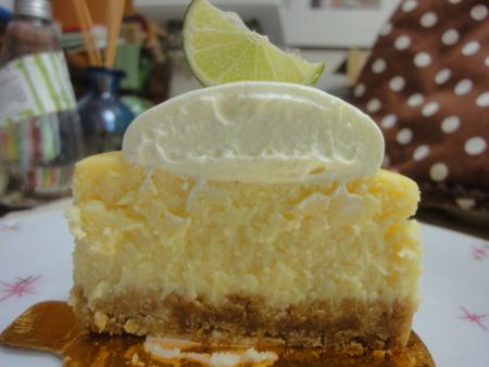 マグノリアベーカリーのキーライムチーズケーキ