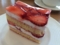 イル・プルー・シュル・ラ・セーヌの苺のショートケーキショートケー