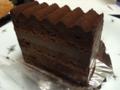 パティスリービガローのトリュッフケーキ