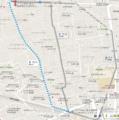 石神井公園ケーキツアー地図