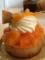 カフェミニクズの季節のタルト(柿)