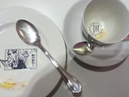 アムール・デュ・ショコラ2016のガラスの仮面カフェの姫川亜弓プレー