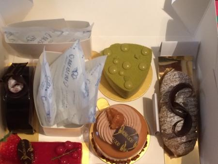 オリジーンヌカカオのケーキ