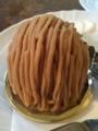 グーテ・ド・ママンの和栗のモンブラン