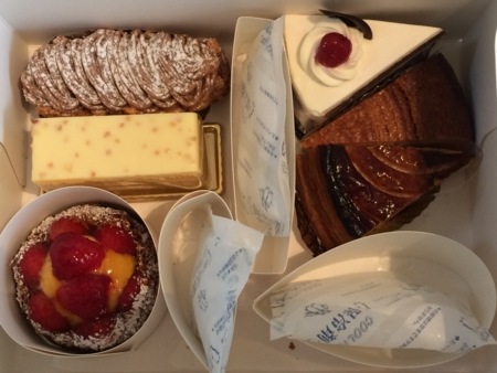 パティスリービガローのケーキ