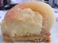 ノワ・ドゥ・ブールの桃のタルト