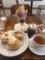 AKラボのパフェとケーキ