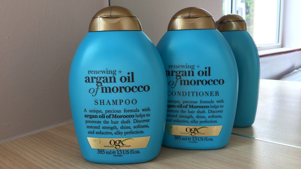 OGX Renewing Moroccan Argan Oil Shampoo & Conditioner