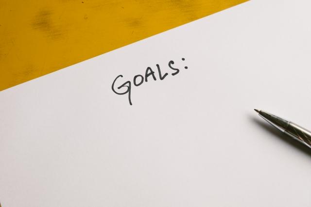 目標に近づいてきたらさらに先の目標を設定する