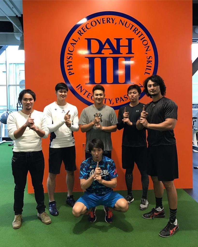 ダルビッシュ有の合同トレーニング