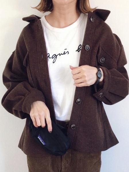 トレンドのCPOジャケットもブラウンがマスト