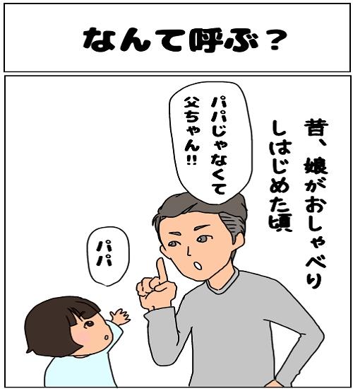 【3人家族~ふわふわ子育てマンガ~】「なんて呼ぶ?」