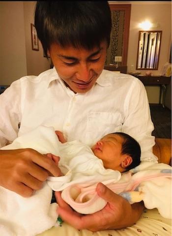 【スザンヌの妹マーガリンの子育てin熊本】新生児バトンがまわってきた!思い出して幸せが湧き出てきました!福田病院での出産、よかったなぁ〜
