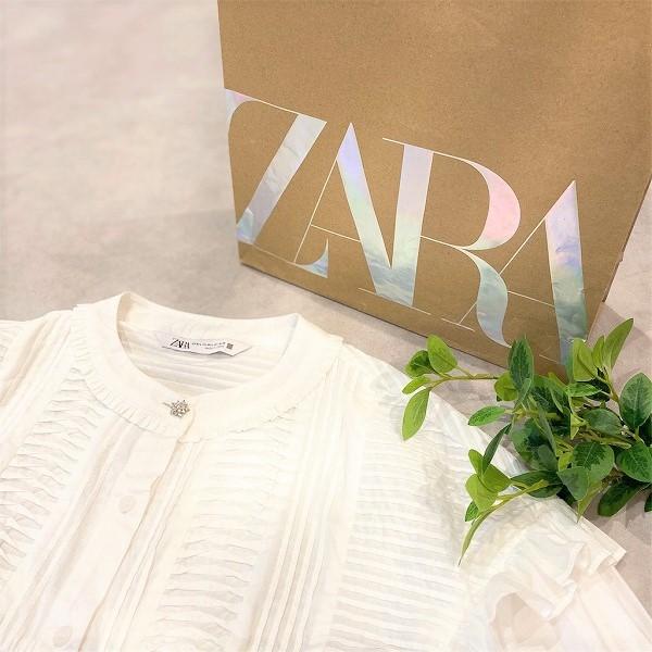 今季マスト「透け感シャツ」をオンラインでGET!ZARAで叶う大人可愛いコーデ♡