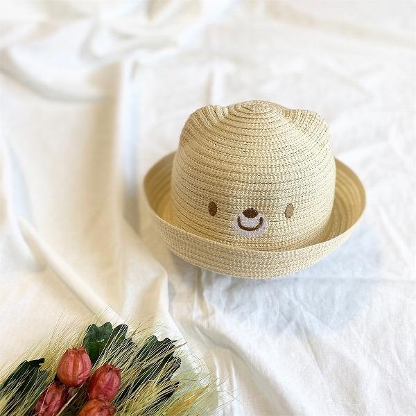 くまさん帽子